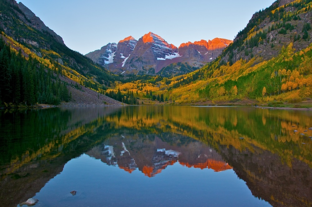 10. Maroon Bells –Snowmass Wilderness in Colorado