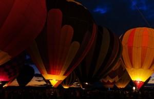 Albuquerque Balloon Glow