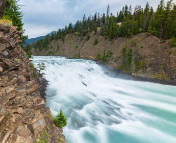 Bow Falls near Banff town