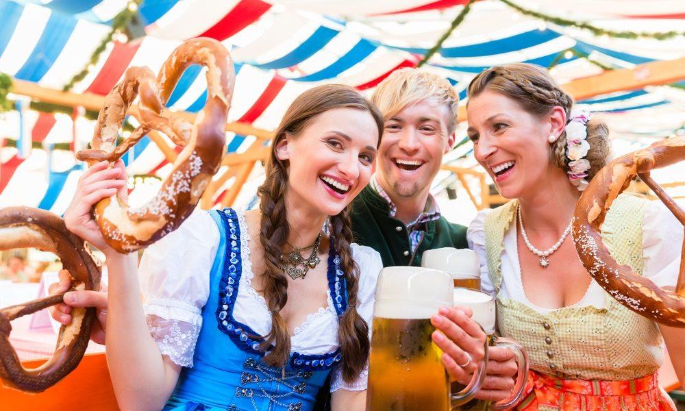 Dirndl, Pretzels and Noch ein Bier at OKTOBERFEST