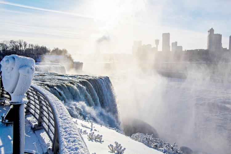 Niagara Falls on Ice