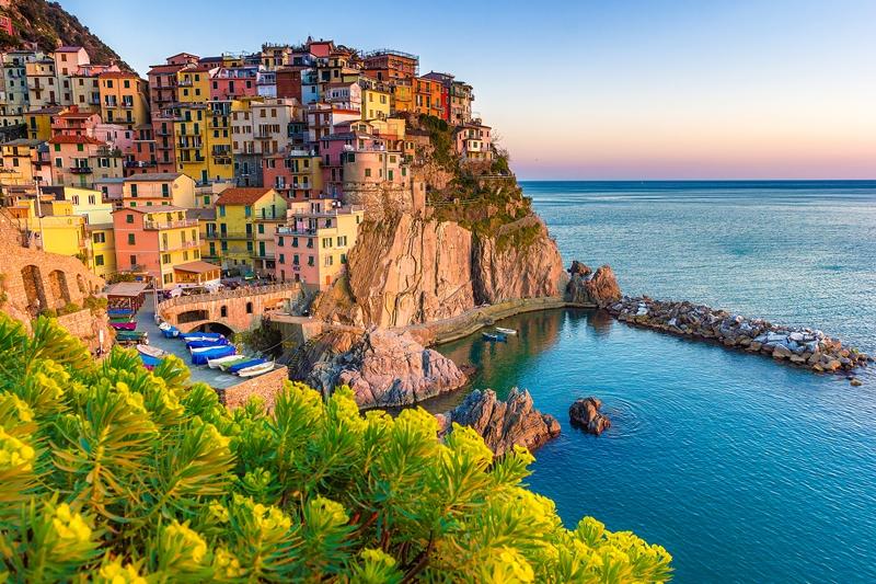 Amalfi Coast Cliff