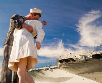 San Diego WWII Statue