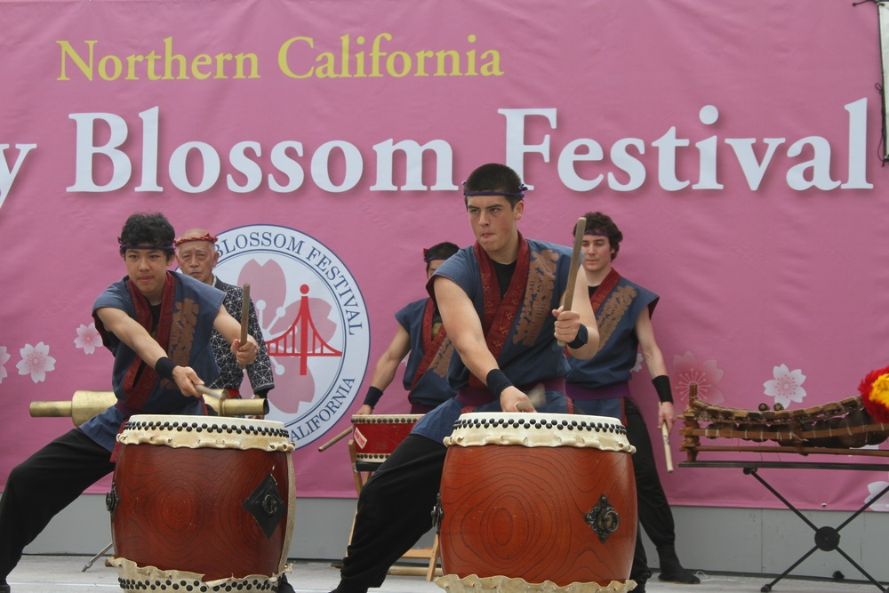 northern california cherry blossom festival [EDITORIAL ONLY]