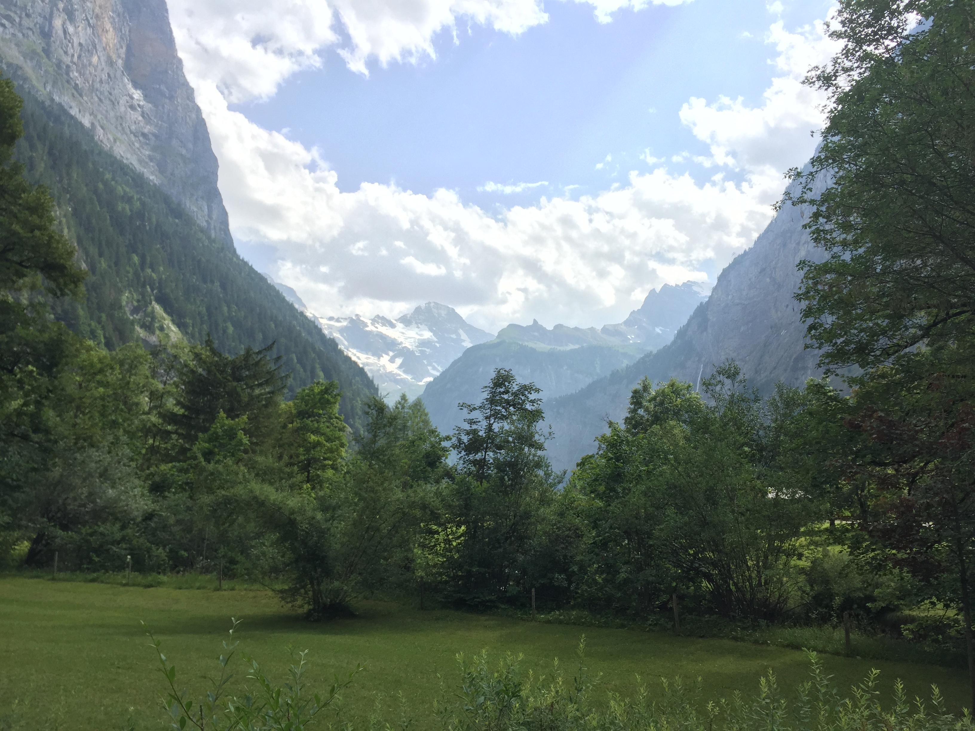 Snapshot of Lauterbrunnen valley