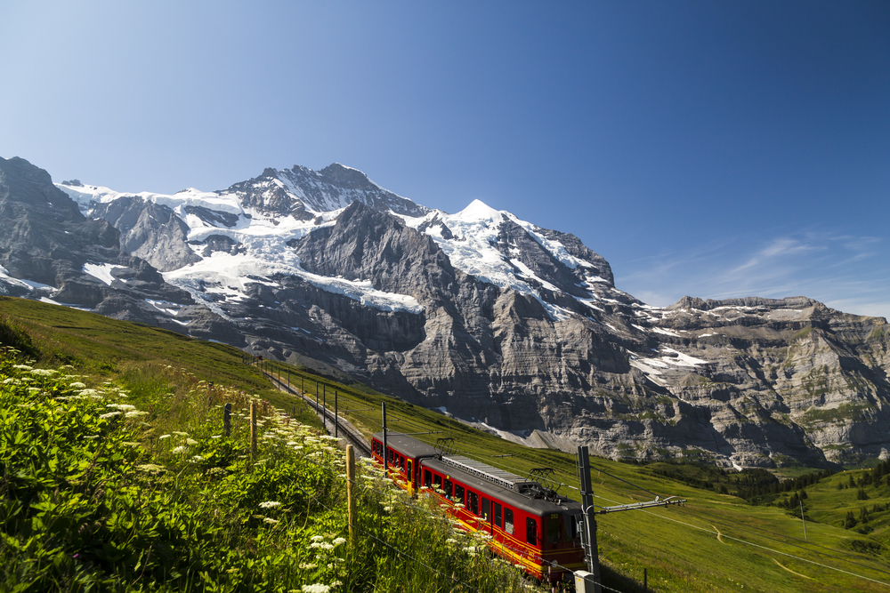My Journey up the Jungfrau
