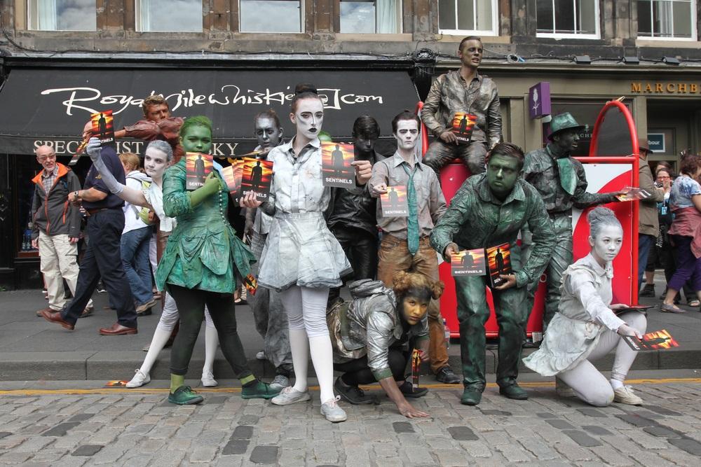 Edinburgh Fringe Festival by Stephen Finn [EDITORIAL USE ONLY]