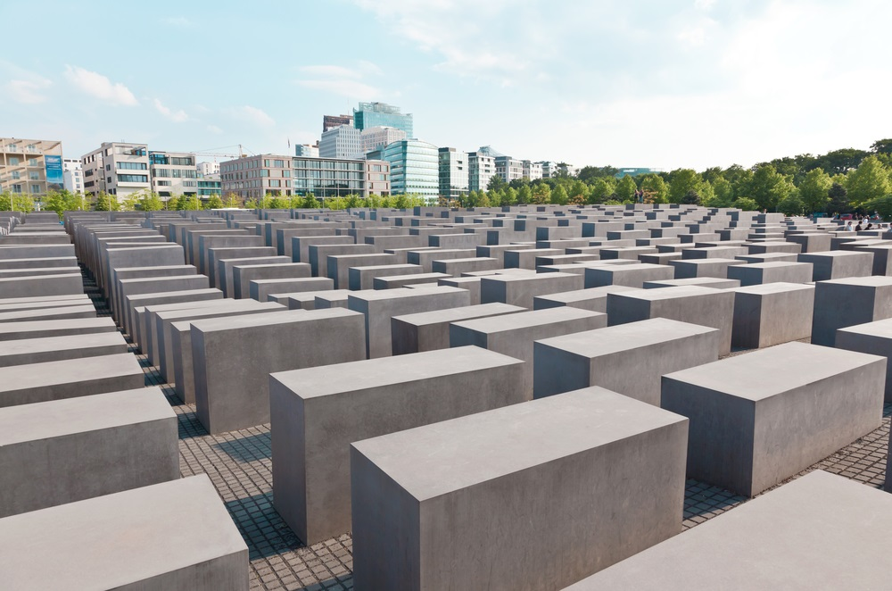 memorial to the murdered jews of europe berlin