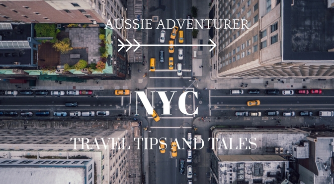 Aussie Adventurer: New York City