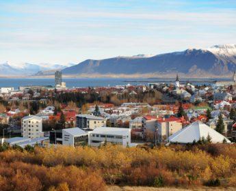 Reykjavik in Fall