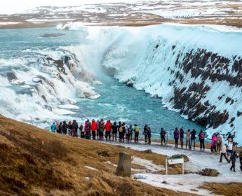 Gullfoss Waterfall in Winter - Golden Circle Day Tour