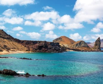 Bartolome Island in the Galapagos