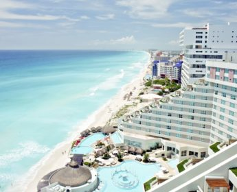 Cancun beachside resort