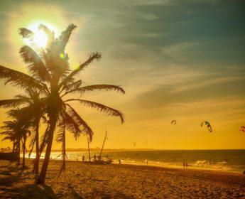 Cumbuco Beach near Fortaleza