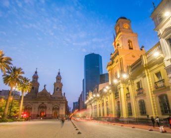Evening in the Plaza de Armas