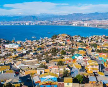 Coastal city of La Serena