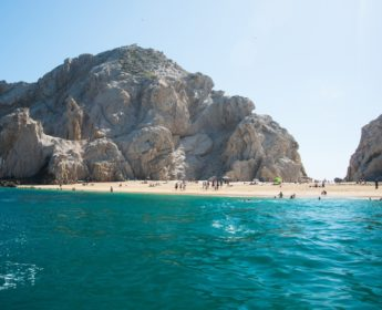 Lover's Beach near Los Cabos