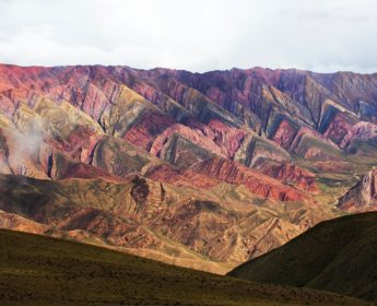 Quebrada de Humahuaca - mountain valley near Jujuy