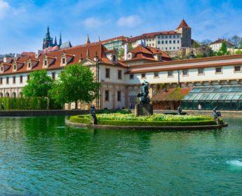Serene Prague Castle