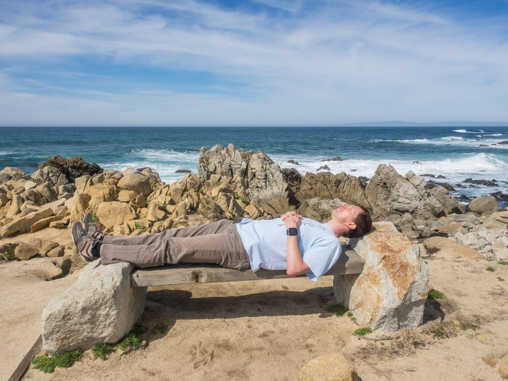 Or you can just nap and enjoy the sea breeze!