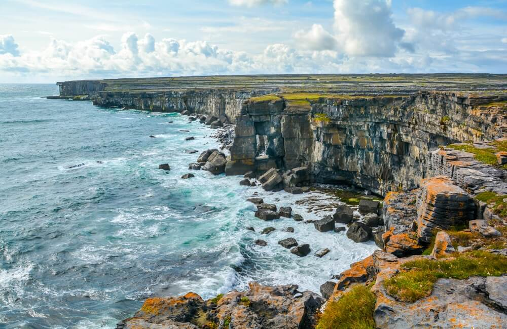 The cliffs of Inishmore Aran Islands