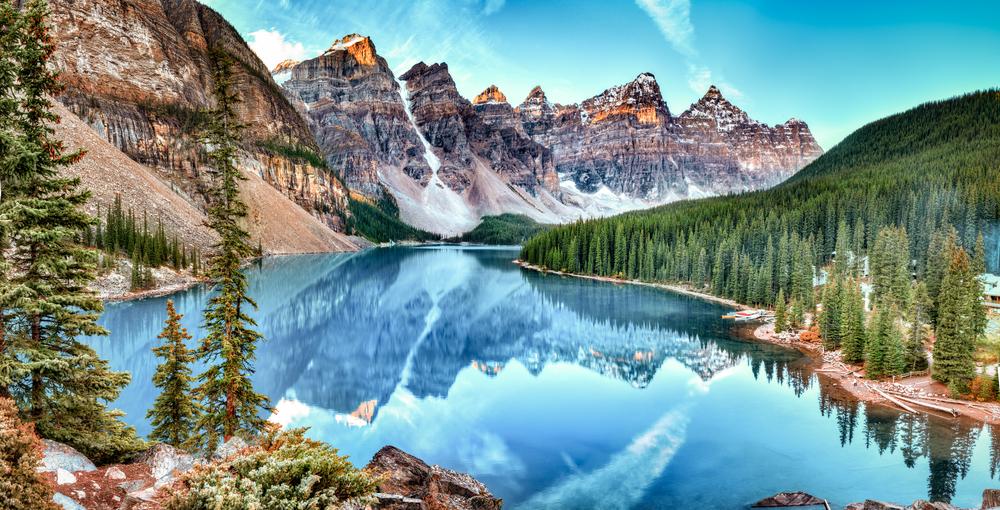 Lake in Banff National Park