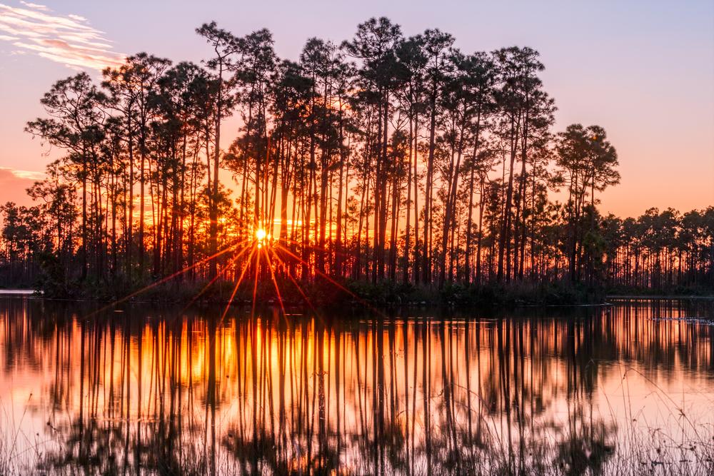 Everglades Ten Thousand Islands sunset